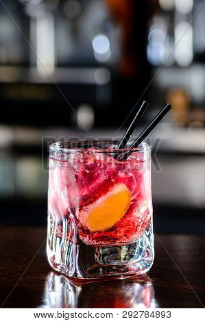 Classic Pink Alcoholic Cocktail El