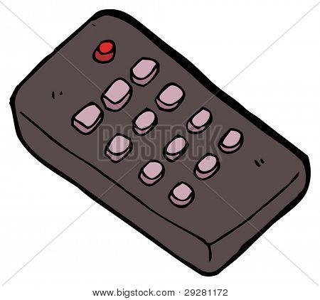 remote control cartoon (raster version)