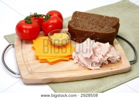 Turkey Sandwhich Ingredients