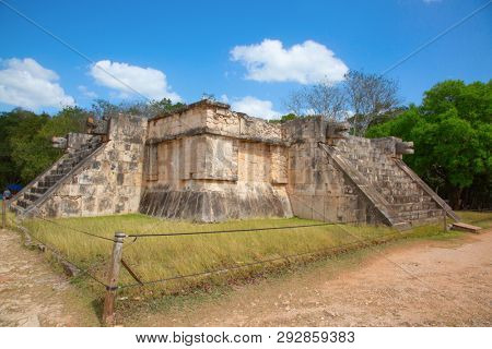 Ruins of the ChichenItza Yucatan