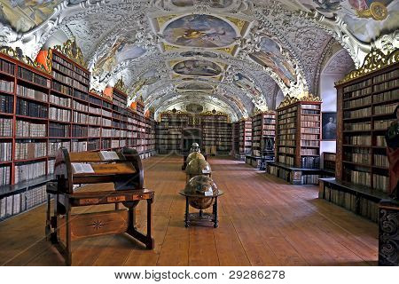 Strahov library in Prague