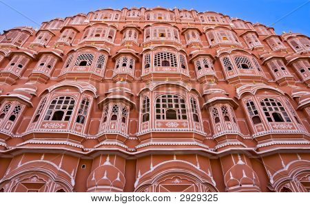 Hava Mahal, Jaipur,   India.