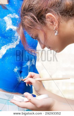 Painting An Ornament