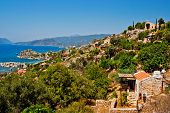 picture of nea  - Turkish village Simena nea the Kekova island - JPG