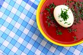 picture of pampushka  - Traditional East European Red Beet Soup Borsch - JPG