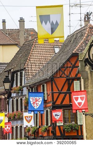 Ribeauville (alsace) - Houses