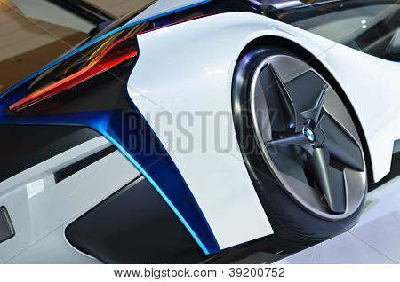 The Bmw Vision Efficientdynamics Vehicle