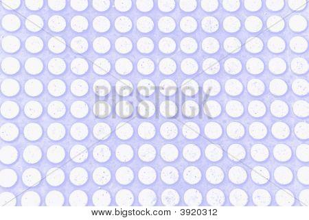 weiße Punkte