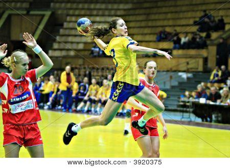 Handball. Woman