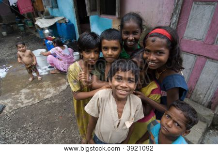 Children In Slum