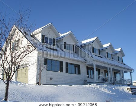 Large family home with dormers