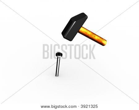 Hammer And A Nail.