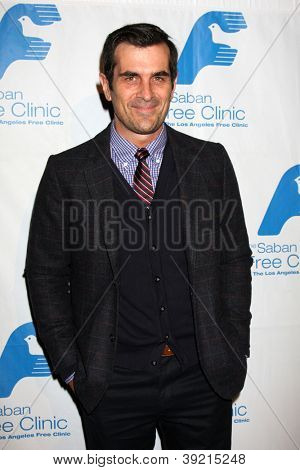LOS ANGELES - NOV 19:  Ty Burrell arrives to the The Saban Free Clinic's Gala at Beverly Hilton on November 19, 2012 in Beverly Hills, CA