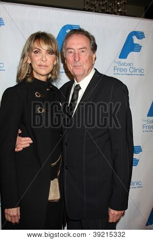LOS ANGELES - NOV 19:  Eric Idle arrives to the The Saban Free Clinic's Gala at Beverly Hilton on November 19, 2012 in Beverly Hills, CA