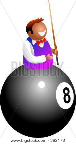 Jugador de billar
