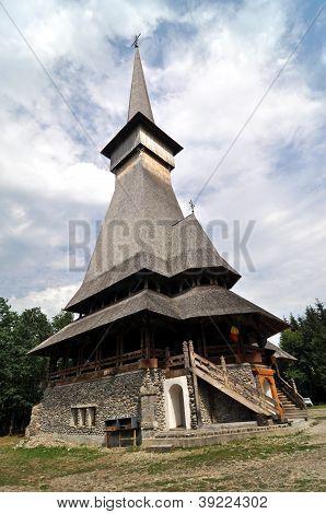 Sapanta orthodox wooden monastery