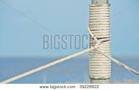 Seaman Rope On Pole