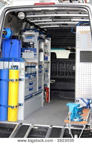 Utility Van Interior