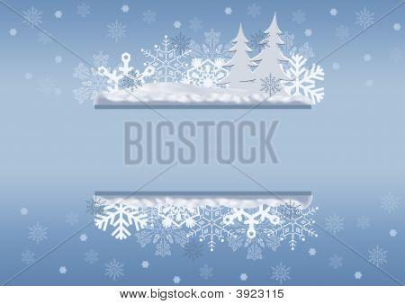 Celebratory Christmas Border