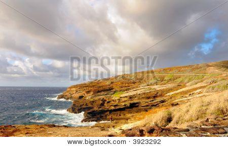 Rugged Oahu Coastline