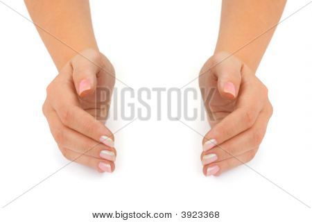 Empty Woman Hands