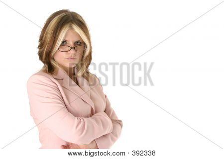 Determined Female Boss