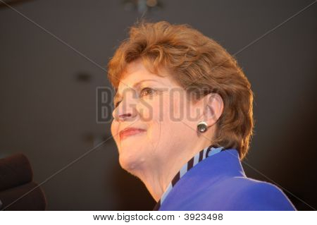 Jeanne Shaheen At New Hampshire Usa Election Night 08