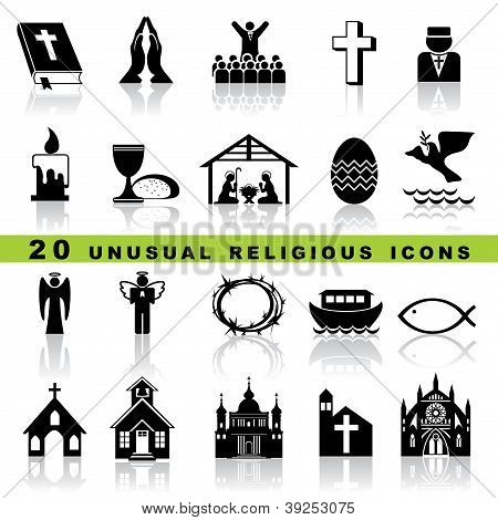 set christian icons