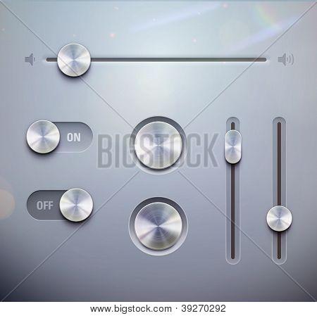 Elementos de interface do usuário