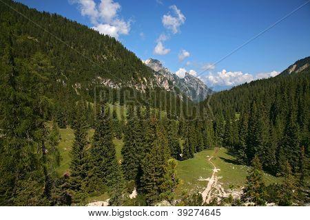 View Of Sexten, Dolomite - Italy