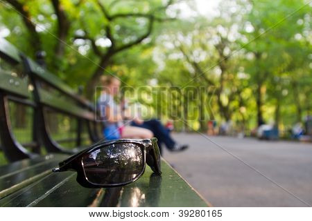 Sunglasses In Central Park, New York