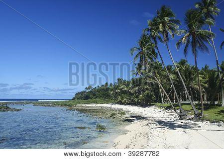 Sandy Beach Siargao Island Filipinas