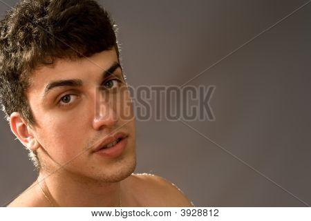 Sensual Young Man