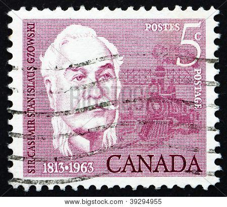 Postage stamp Canada 1963 Sir Casimir Stanislaus Gzowski