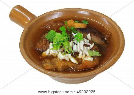 Fish Maw Soup Asian Soup