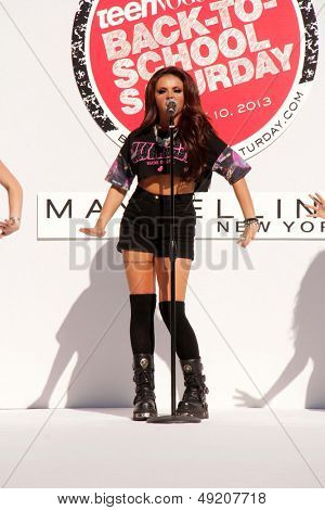 LOS ANGELES - AUG 9:  Jesy Nelson at the Teen Vogue's Back-To-School Saturday Kick-Off Event at the The Grove on August 9, 2013 in Los Angeles, CA