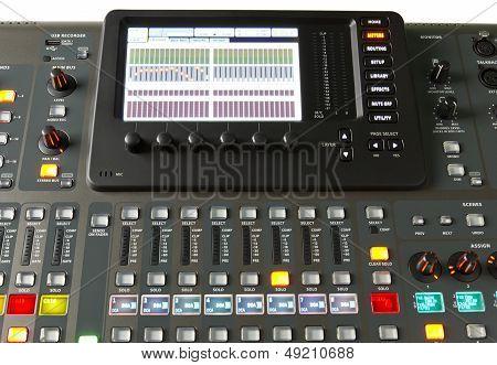Digital audio mixer