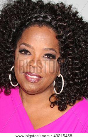 LOS ANGELES - 12 de agosto: Oprah Winfrey no