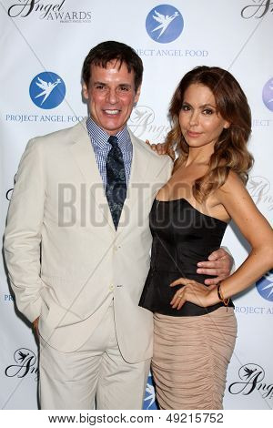LOS ANGELES - AUG 10:  Christian LeBlanc, Lisa LoCicero at the Angel Awards at the Project Angel Food on August 10, 2013 in Los Angeles, CA