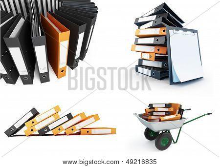 Office Folders Set