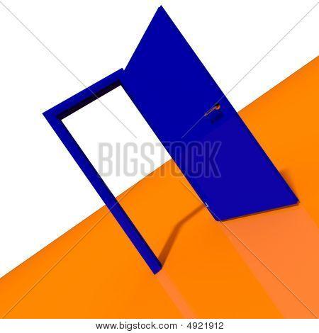 Door Abstract 3D