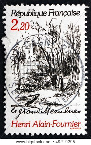 Postage Stamp France 1986 Scene From Le Grand Meaulnes