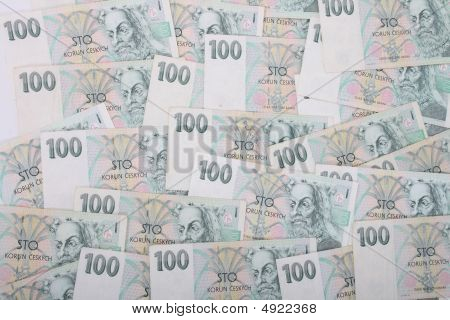 Czech Banknotes In One Hundered