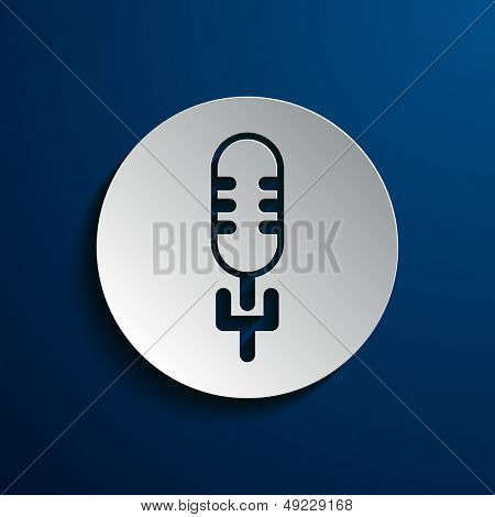 Stock icons microphone