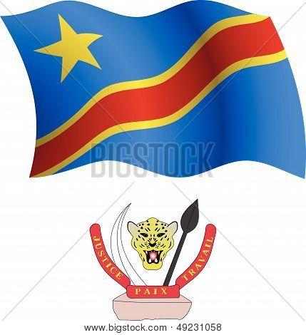 Congo Wavy Flag And Coat