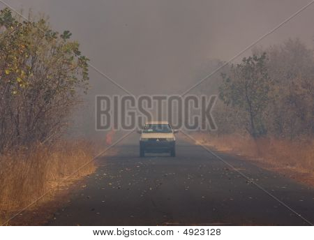 Bushfire In The Gambia