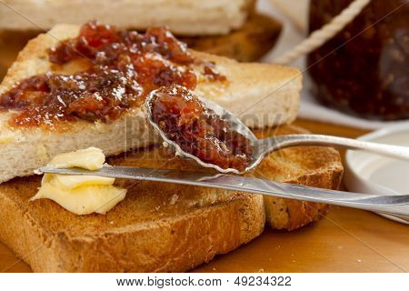 Spoonful Of Fig Jam