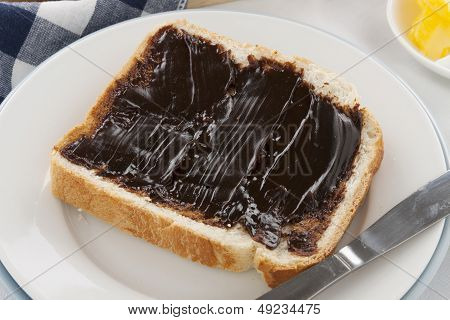 Vegemite On Bread