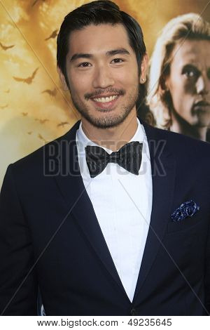 LOS ANGELES - AUG 12: Godfrey Gao at the premiere of Screen Gems & Constantin Films' 'The Mortal Instruments: City of Bones' at ArcLight Cinemas Cinerama Dome on August 12, 2013 in Hollywood, CA