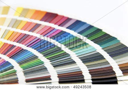 Pantone Color Card